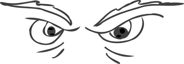 Animated Watching Eyes Clip Art.