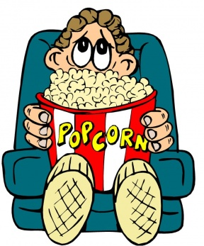 Movie Home Clipart.