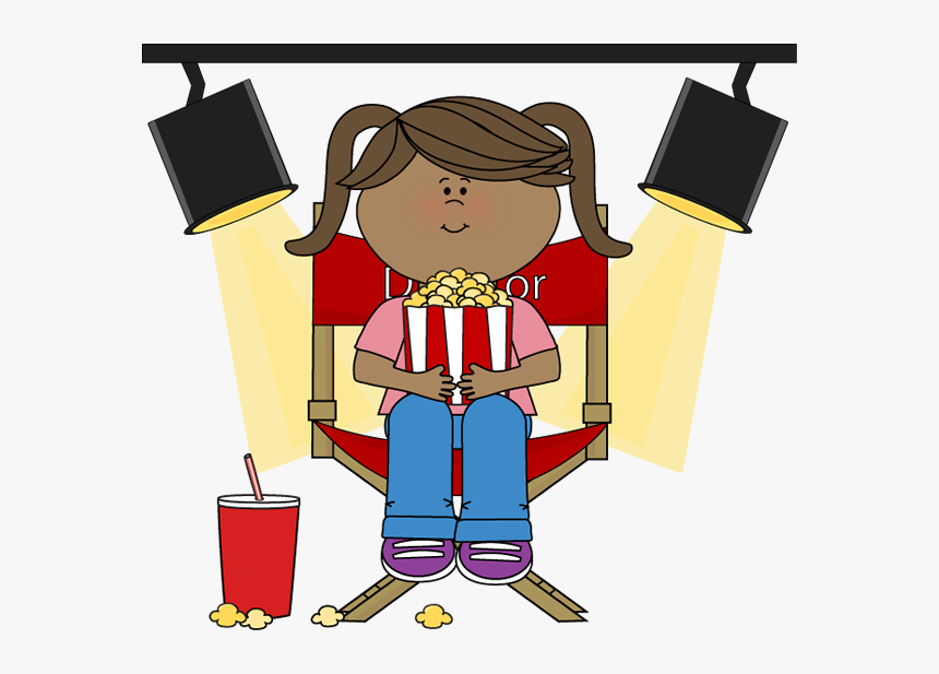 Eating Popcorn Clip Art, HD Png Download , Transparent Png.