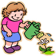 water a seed clipart - Clipground