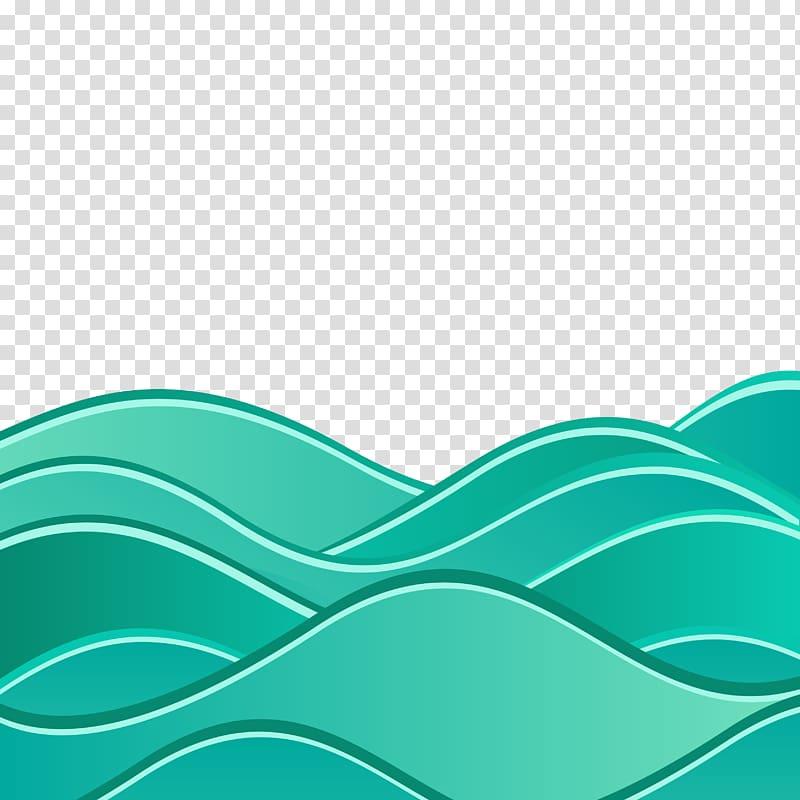 Blue water logo, Wind wave Euclidean Wave Sea, Background.