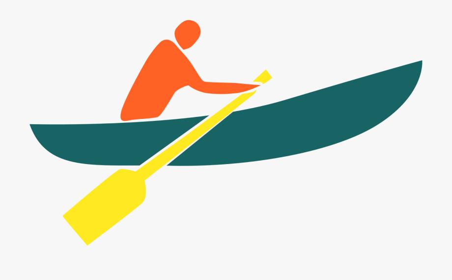 Canoe Clipart Rowing Boat.