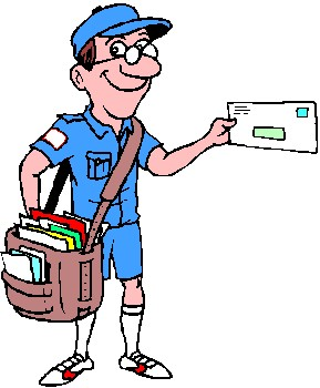 Water as a mailman clipart Transparent pictures on F.