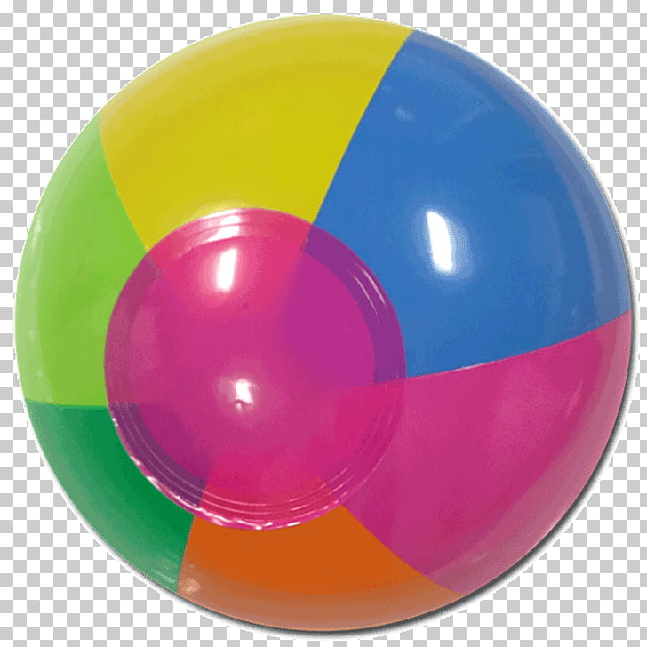 Inflatable Beach ball Water ball Plastic, ball PNG clipart.