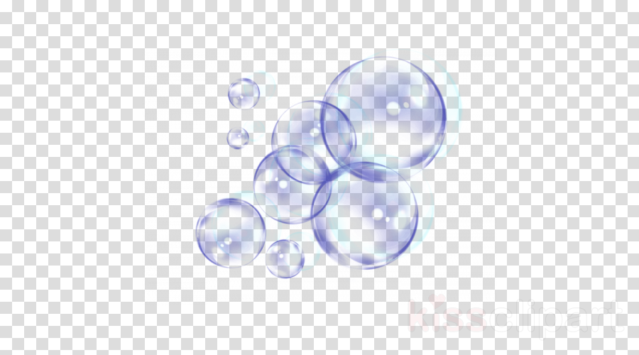 sphere blue glass water ball clipart.