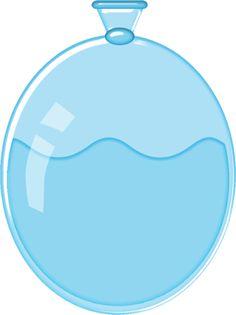 Water Ballon Clipart.