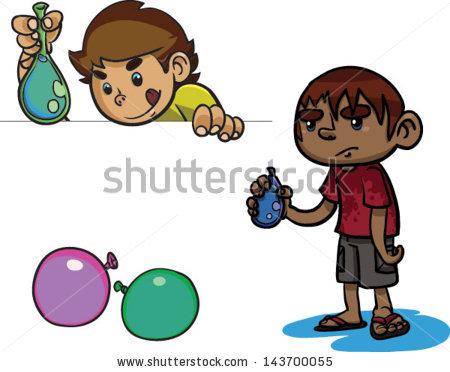 Water Balloon Stock Images, Royalty.
