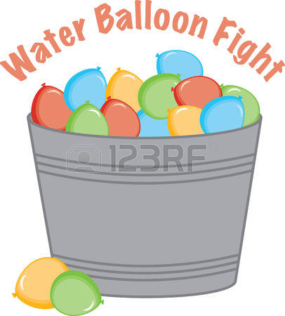 3,726 Water Balloon Cliparts, Stock Vector And Royalty Free Water.