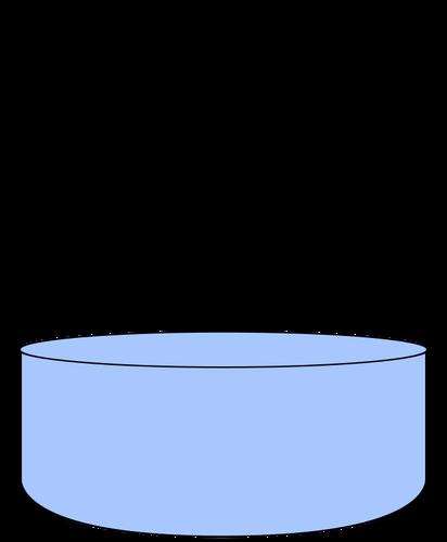 Water beaker.