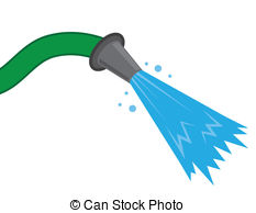 Hose water spray Vector Clipart EPS Images. 936 Hose water.