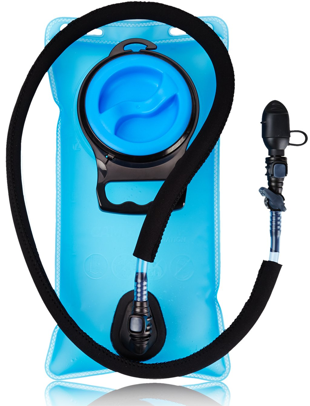 Camden Gear Hydration Water Bladder. 1.5 L 2L 3L Liter Bag Pack.