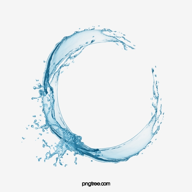 Water Border PNG Images.