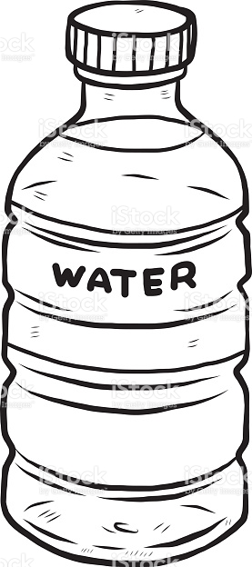 Water Bottle stock vector art 535070963.
