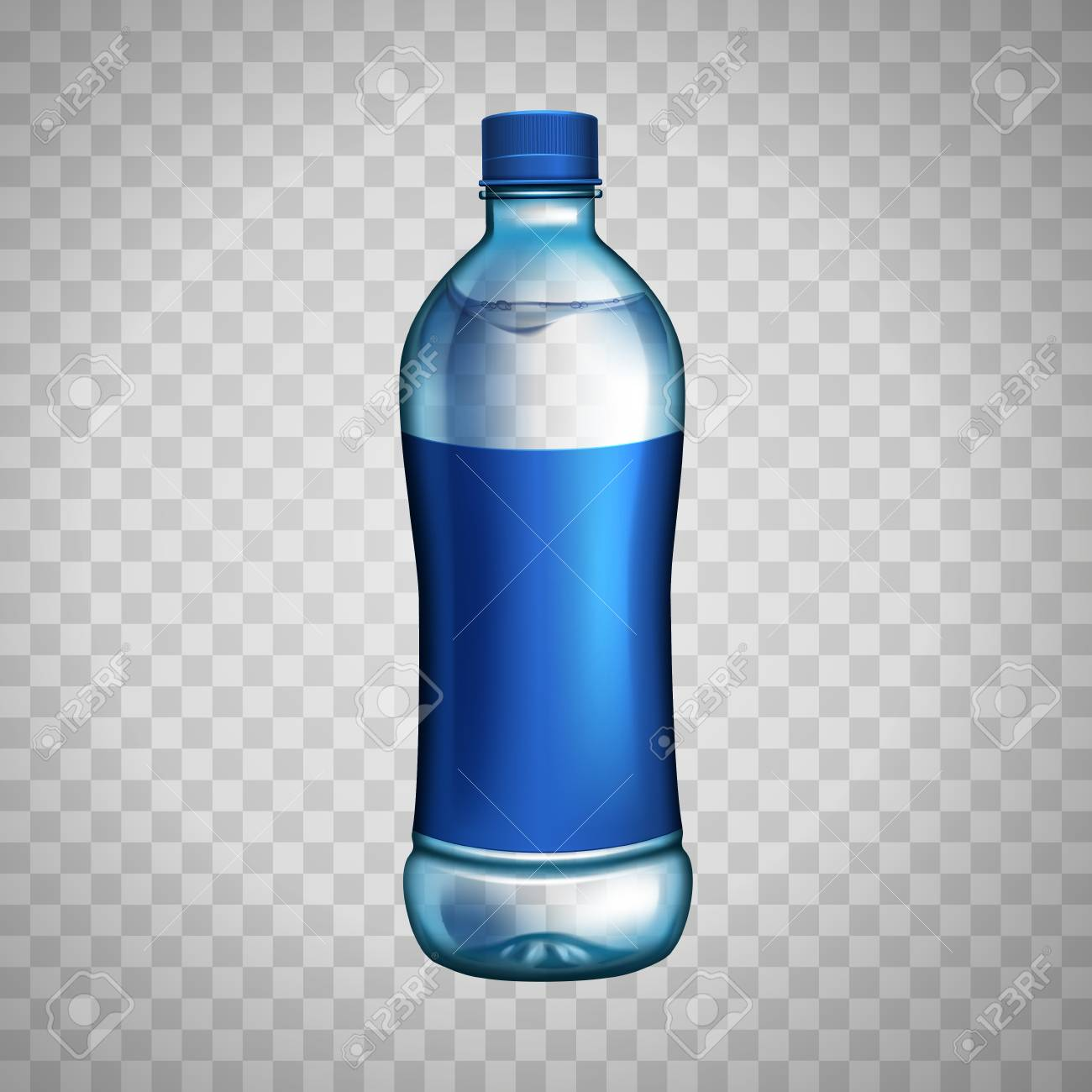 1388 Water Bottle free clipart.