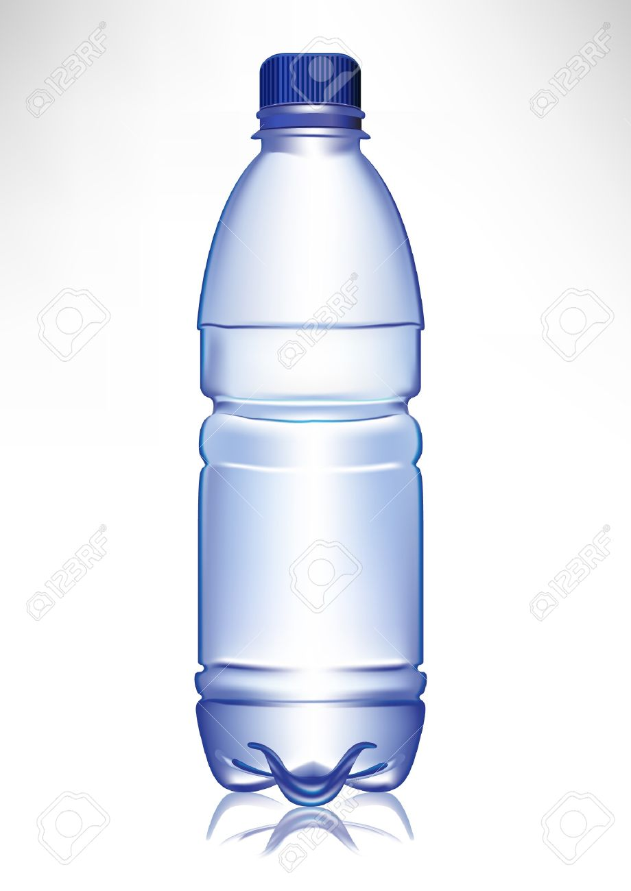 Small Water Bottle Clipart.