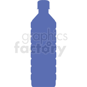 water bottle silhouette no background clipart. Royalty.