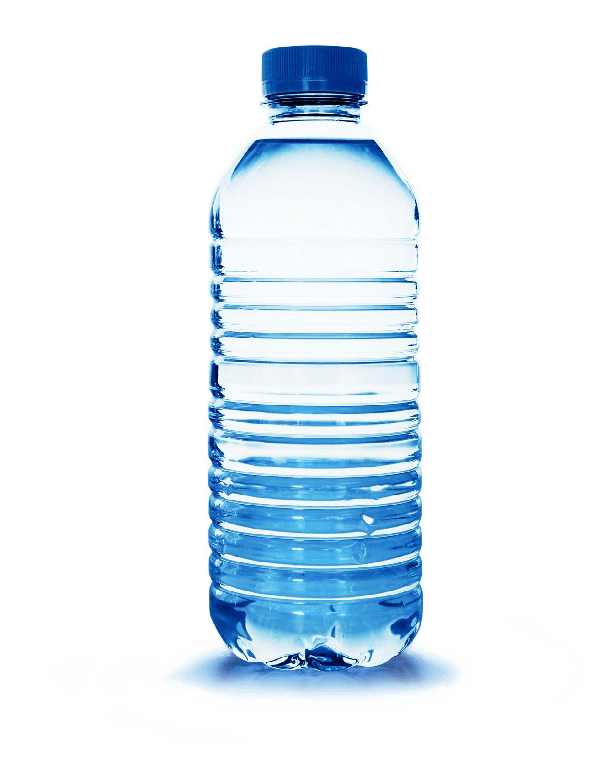Water Bottle Plastic transparent PNG.