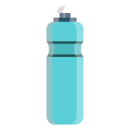 Cycling water bottle icon.
