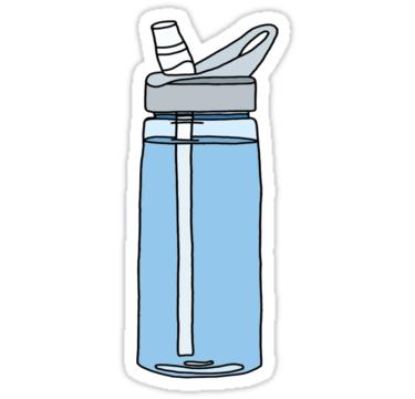 blue camelbak water bottle\' Sticker by andilynnf in 2019.