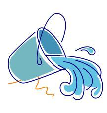 Bucket Of Water Clipart.