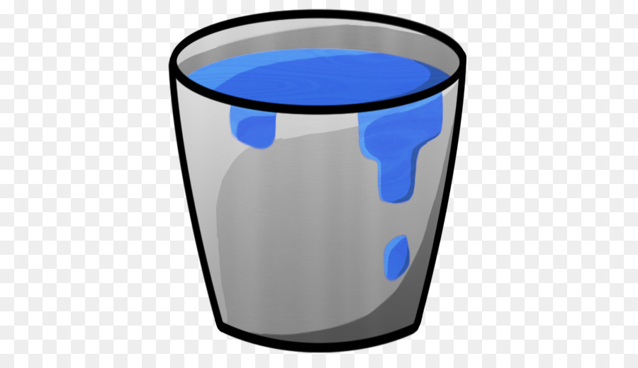 Download Free png electric blue water glass Bucket Water png.