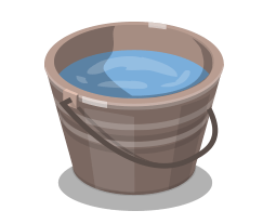 Bucket Of Water Png 1 » PNG Image #343330.