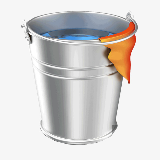 Download Free png Design Of A Bucket Filled With Water.