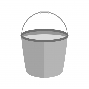 Water Bucket PNG Images.