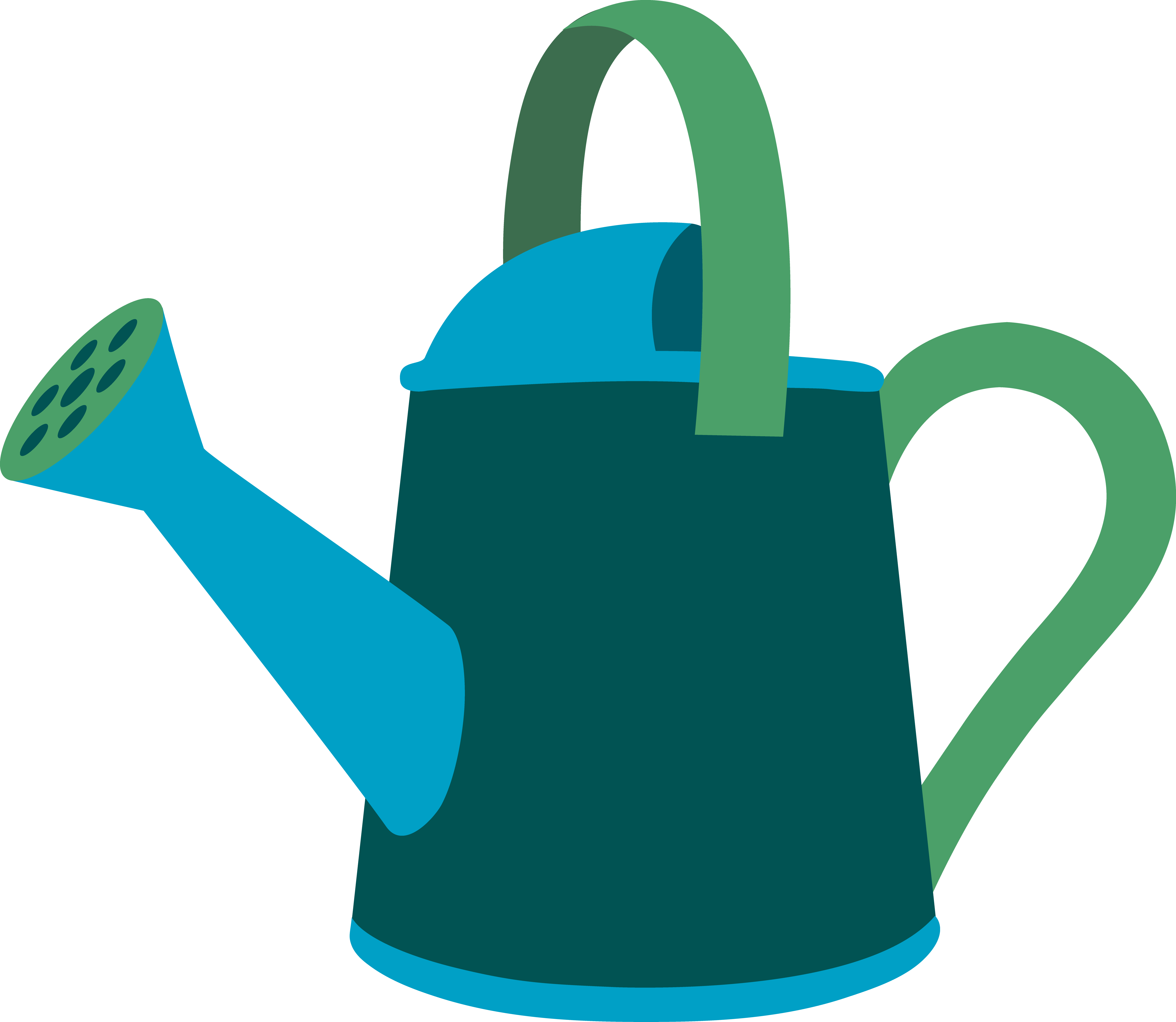 Best Watering Can Clipart #13107.