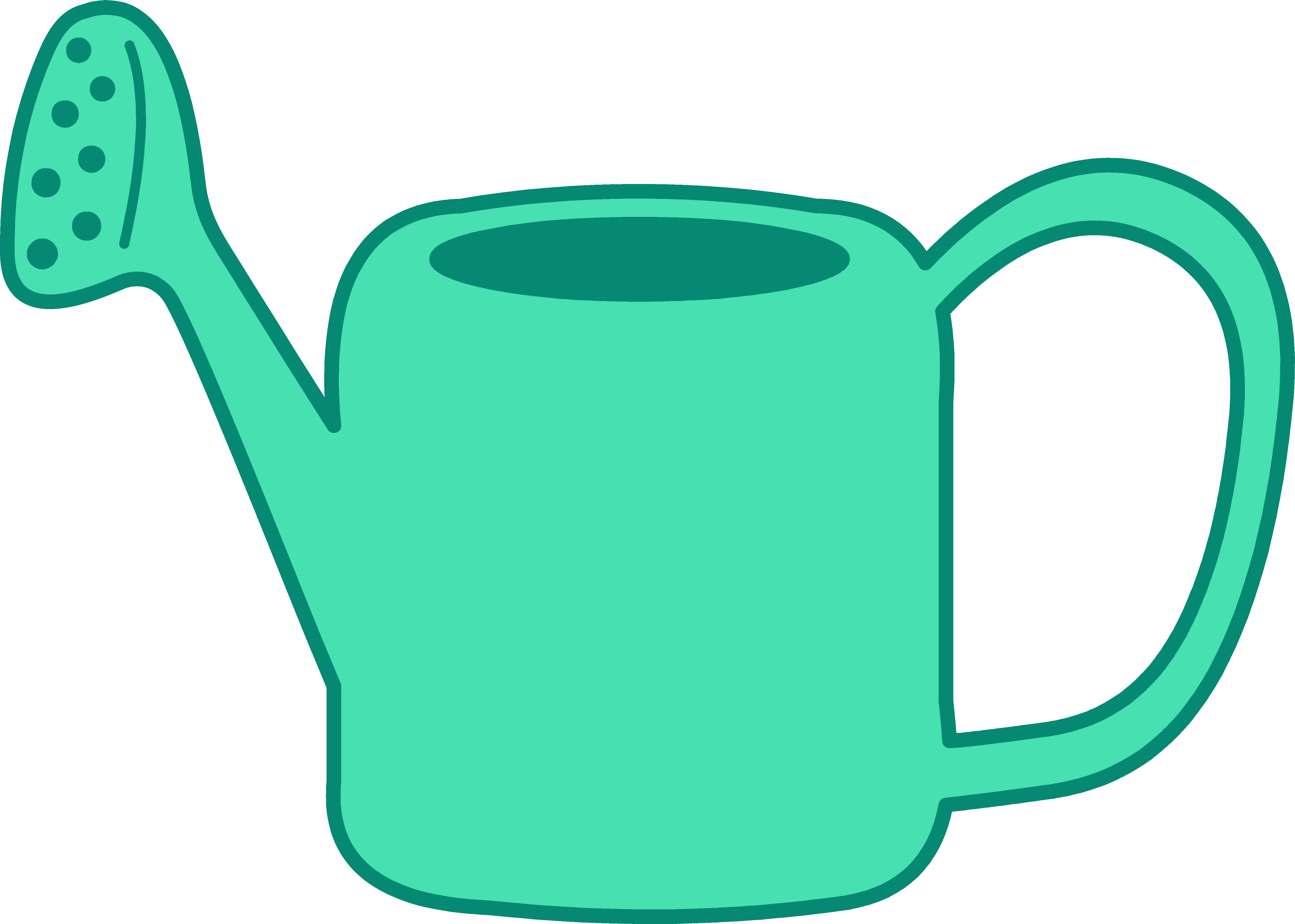 Best Watering Can Clipart #13108.