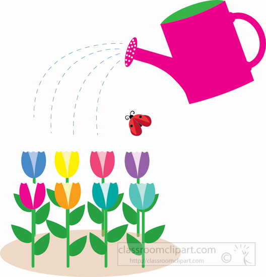 452 Watering Can free clipart.