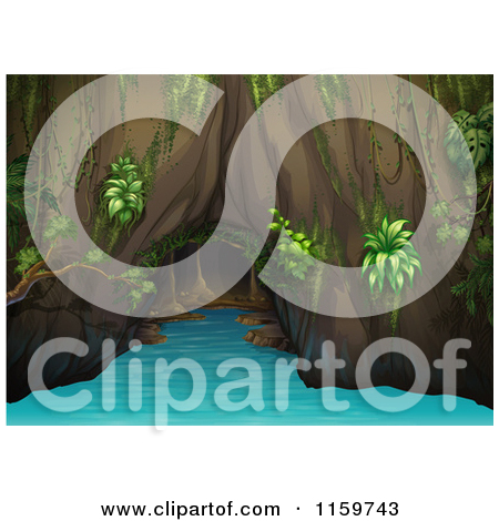 Water cave clipart #11