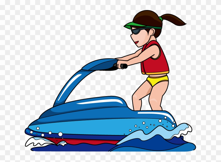 Water skiing clip art Transparent pictures on F.