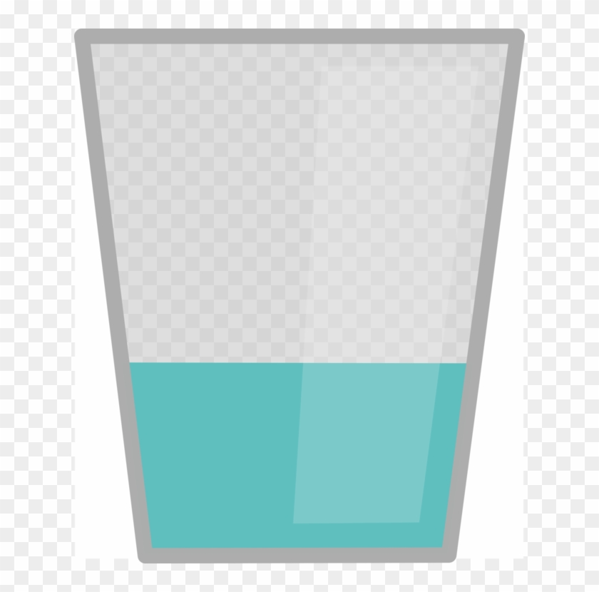 Glass Cup Drinking Water.