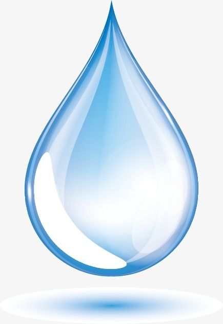 Water Drops Vector, Water, Drop, Crystal Clear PNG.