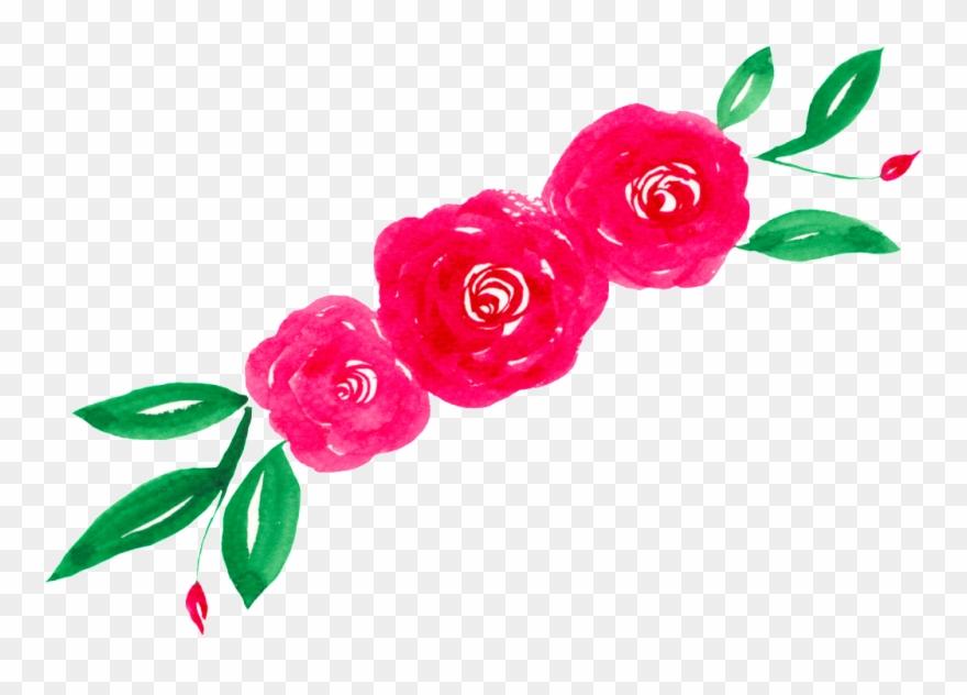 Watercolor Flower Transparent.