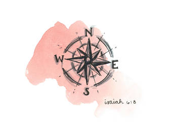 Compass clipart watercolor, Compass watercolor Transparent.