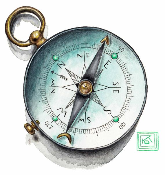 Compass Watercolor at GetDrawings.com.