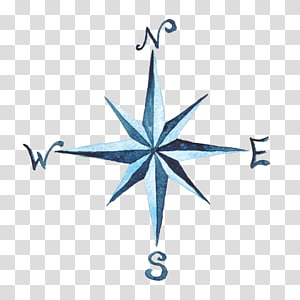 Compass Watercolor transparent background PNG cliparts free.