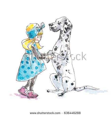 Dalmatian Puppy Stock Images, Royalty.