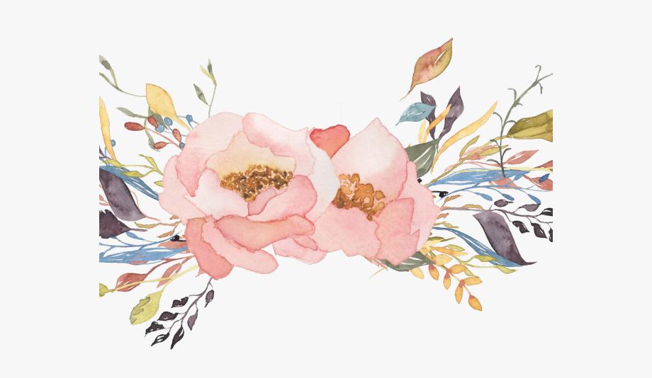 Floral Clipart Watercolor.