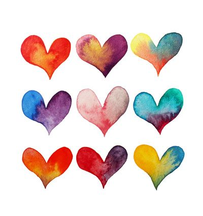 25+ best ideas about Watercolor Heart on Pinterest.