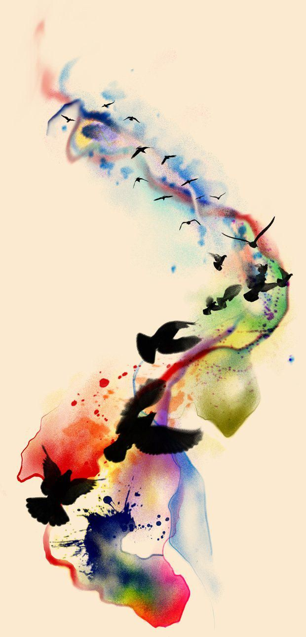 25+ best ideas about Watercolor Bird on Pinterest.