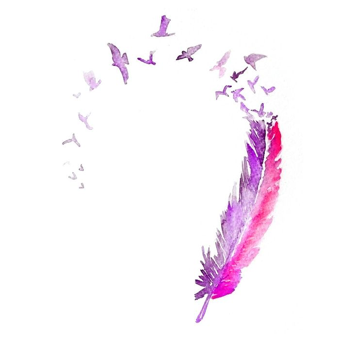 25+ best ideas about Watercolor Feather on Pinterest.
