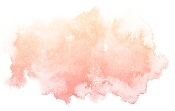 Abstract cream watercolor background. vector art.