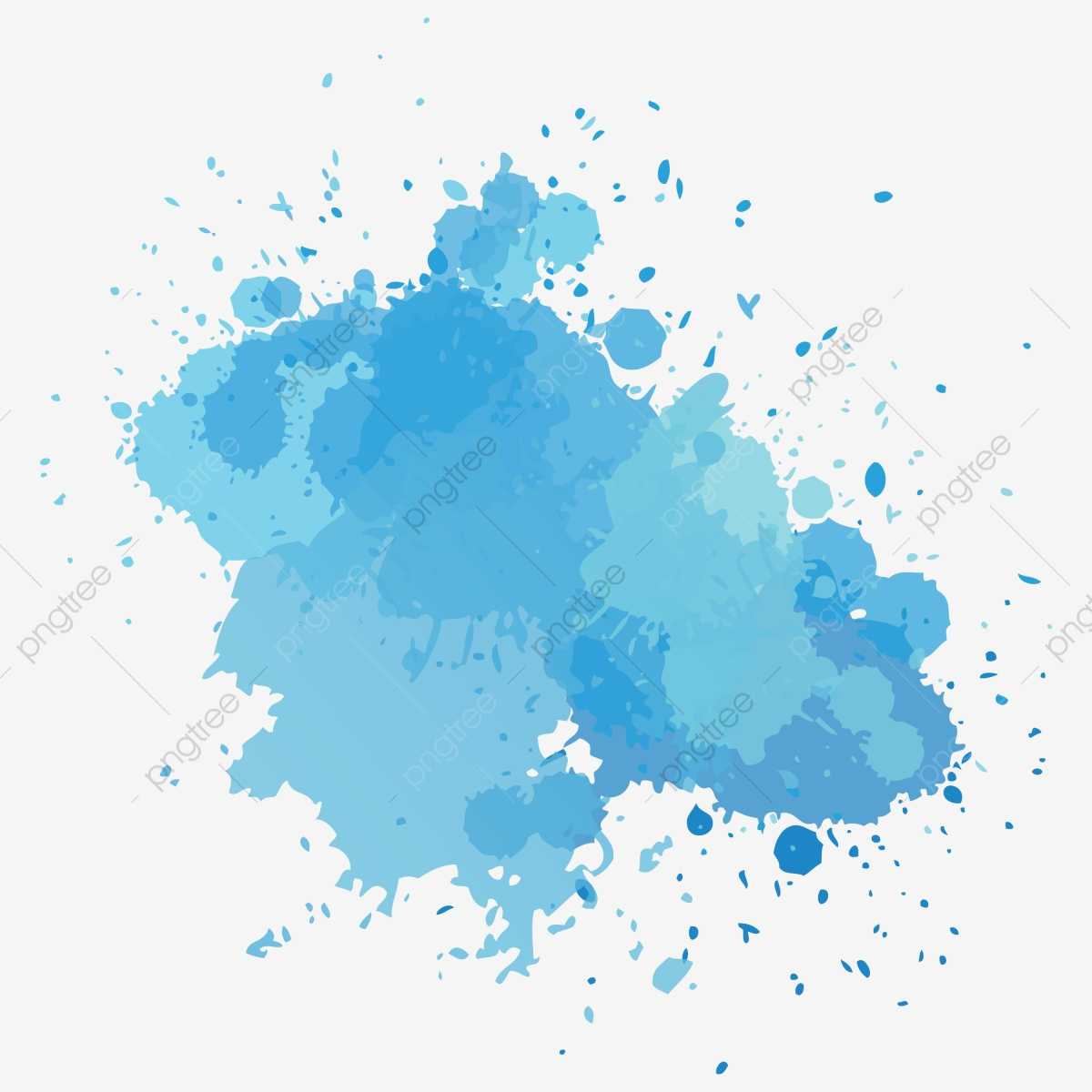 Blue Watercolor Background, Water Color Background.