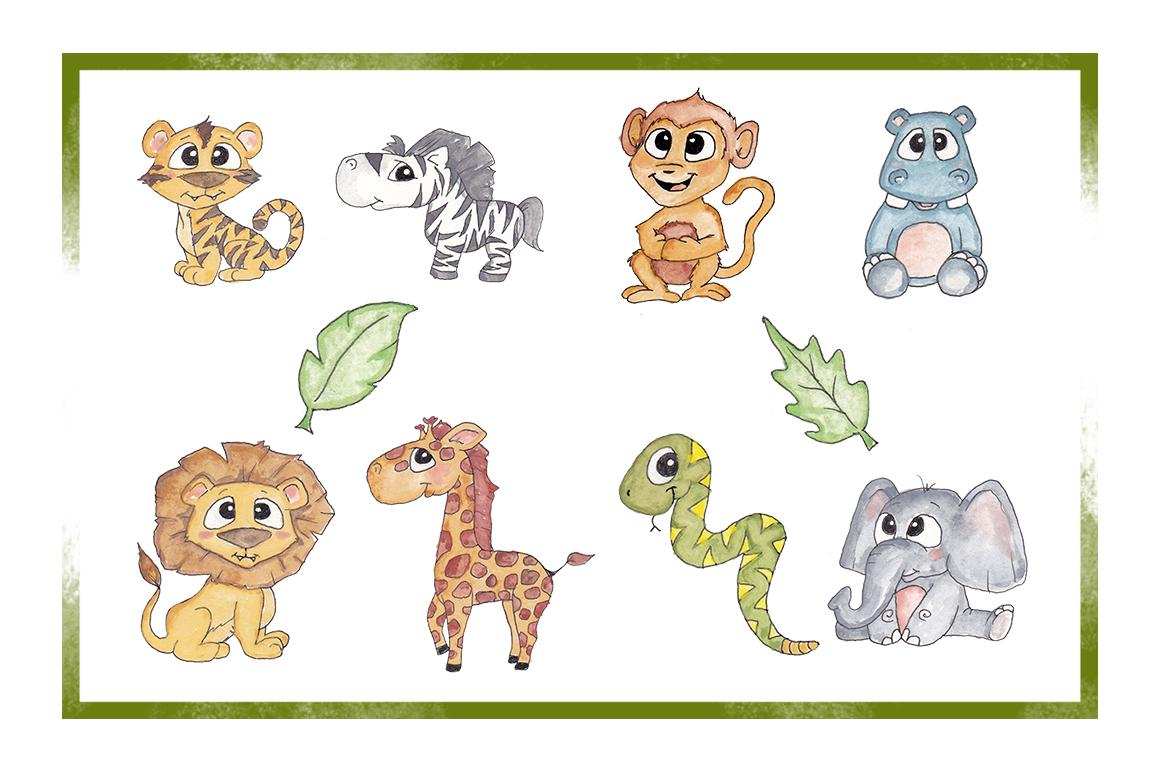 Zoo Animal Clipart Group (+), HD Clipart.