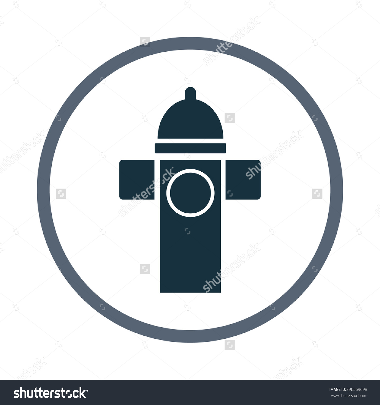 Water Column Icon Stock Vector Illustration 396569698 : Shutterstock.