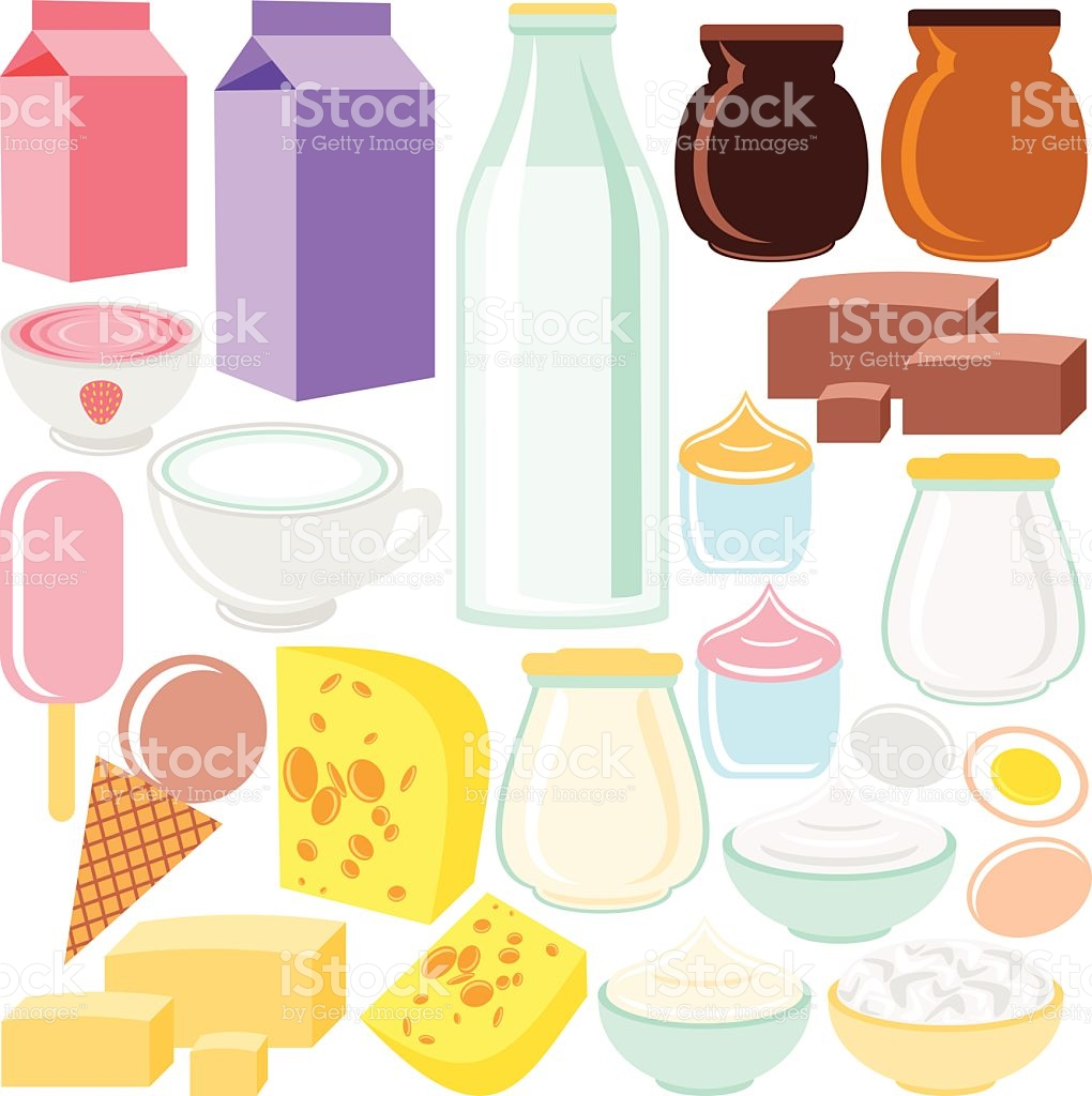 Dairy Product stock vector art 469726882.