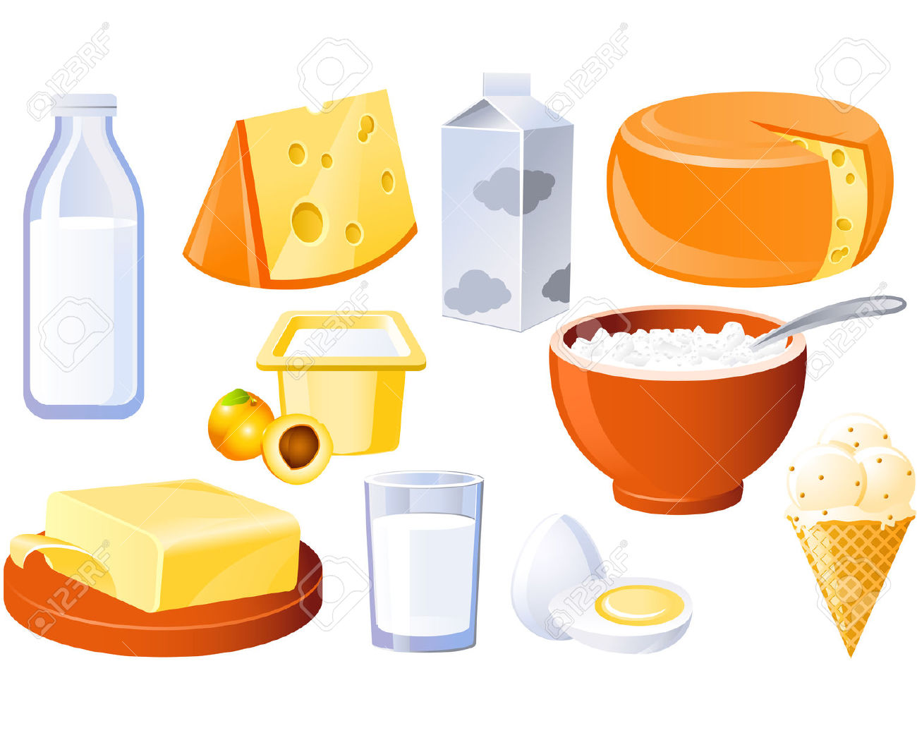 683 Cottage Cheese Stock Illustrations, Cliparts And Royalty Free.